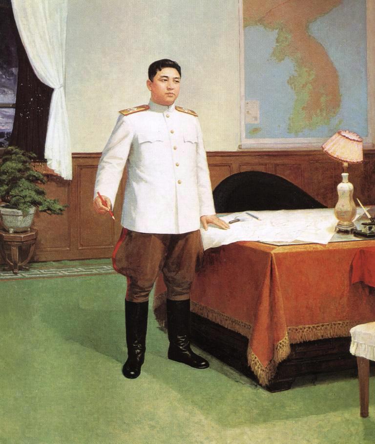 Ким Ир Сен единственный в мире гениальный военный стратег и выдающийся Полководец