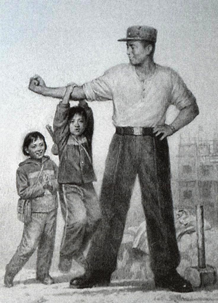 Сонгунская сила в руках бойцов КНА