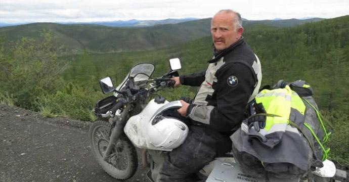 Байкеры из Новой Зеландии посетили гору Пекту