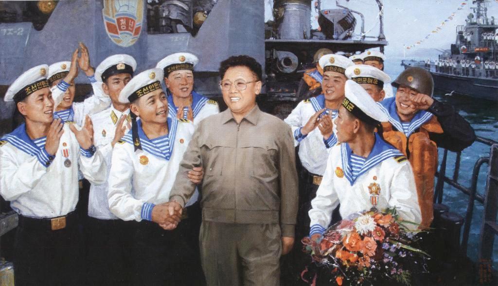 Все руководящие работники, члены партии, все трудящиеся должны основательно вооружиться революционными идеями сонгун товарища Ким Чен Ира