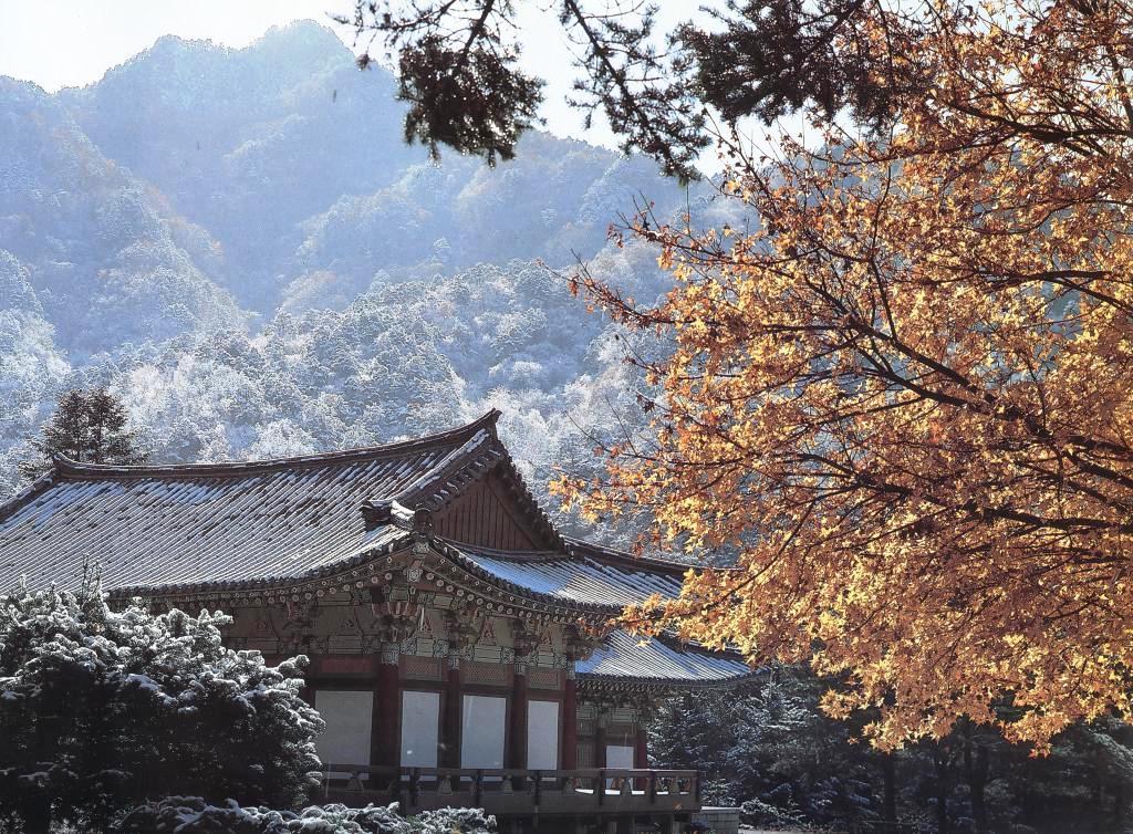 Горы Мёхян поздней осенью