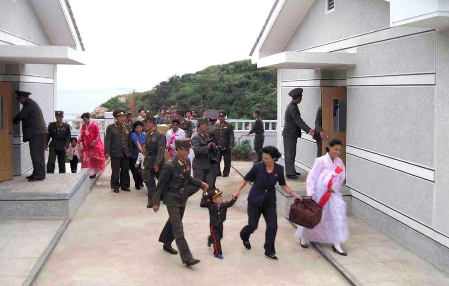 Выполняется замысел Ким Чен Ына о создании для бойцов КНА еще более комфортных условий службы