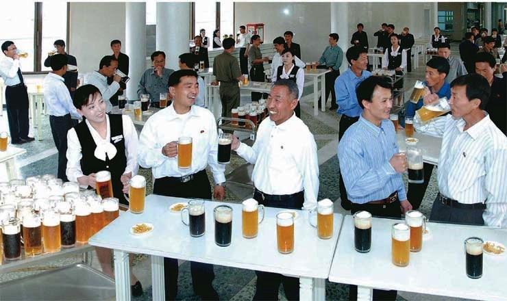 Тэдонганское пиво любит весь наш народ