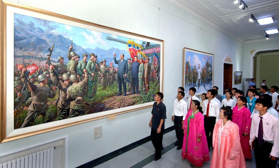 Заветы Ким Ир Сена и Ким Чен Ира вечно чтут трудящиеся
