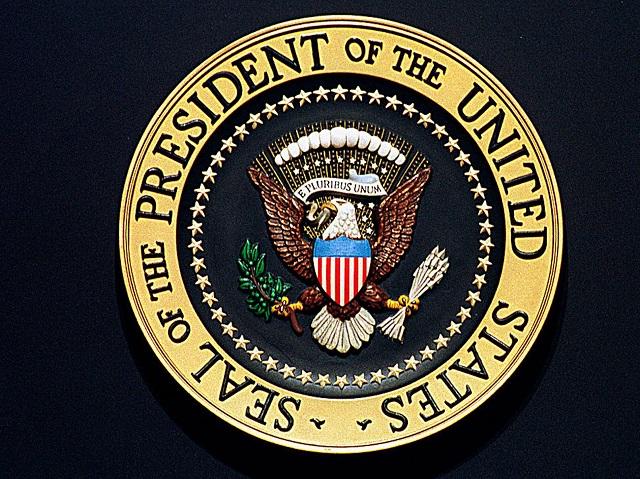 Печать президента США