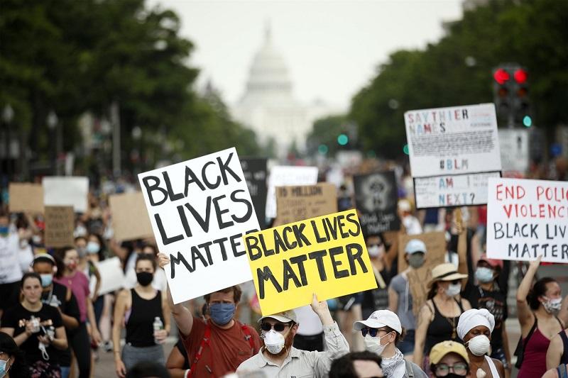 демонстрация в Вашингтоне
