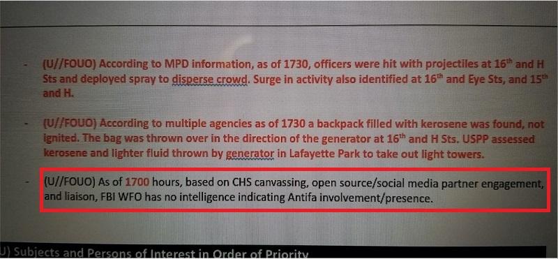 скриншот документа ФБР