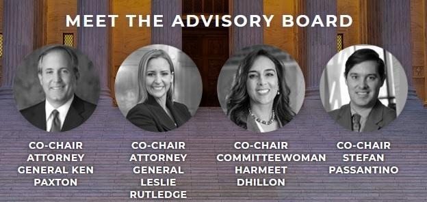 Скриншот страницы  сайта юристы за Трампа