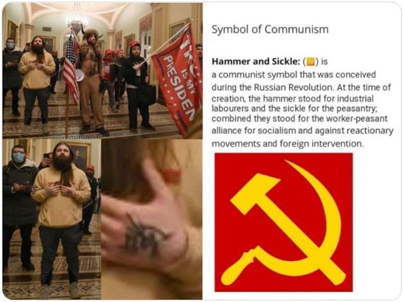 татуировка на левой руке