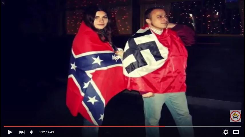 фашисты с флагом конфидерации