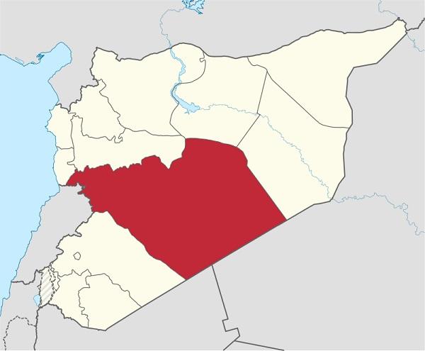 Провинция Хомс Сирия
