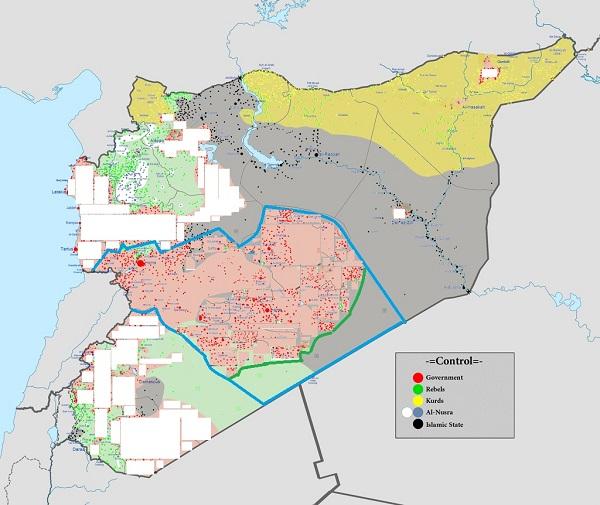 модифицированная карта Сирии