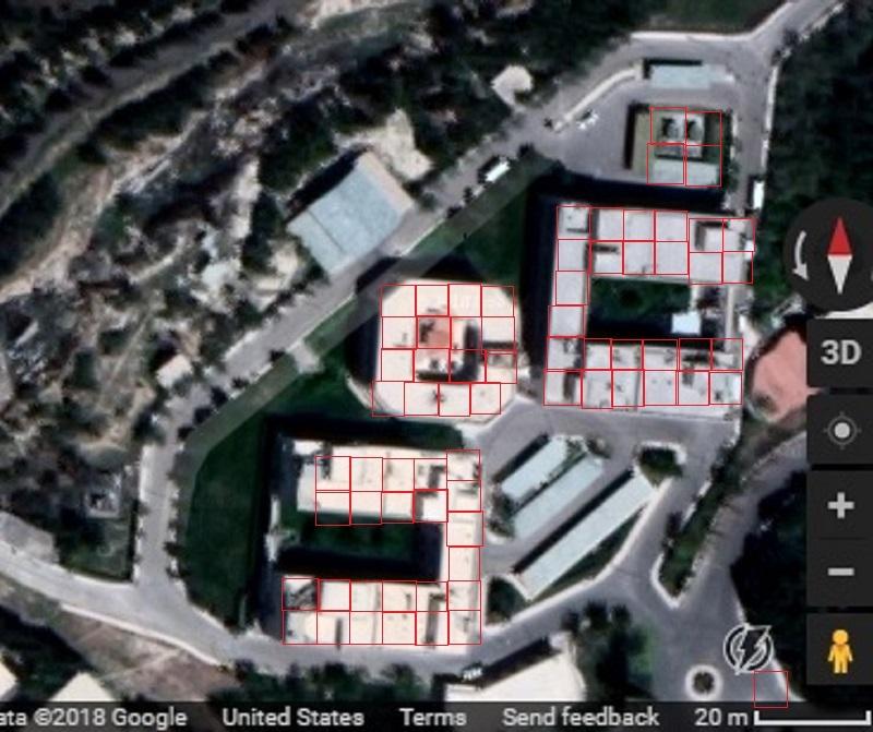 спутниковый снимок исследовательского центра Барза