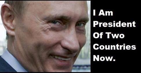 Путин - президент двух стран