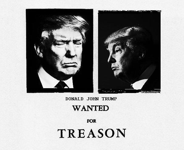 разыскивается предатель Трамп
