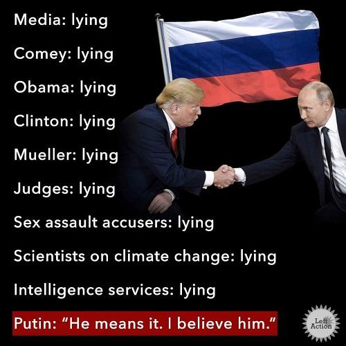 все врут, только Путин говорит правду