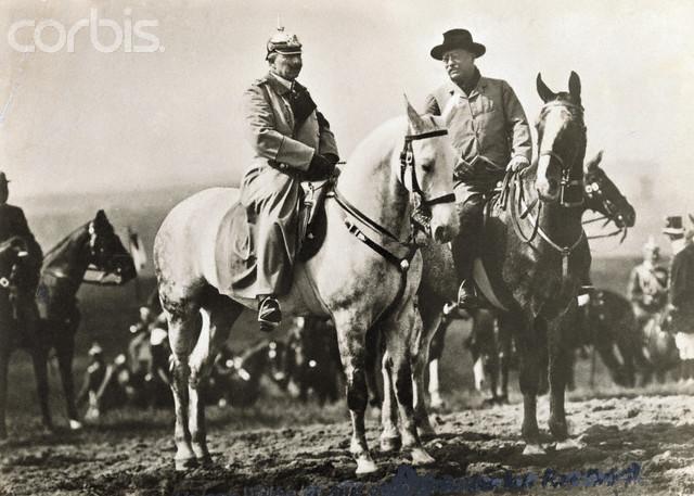 Рузвельт и Вильгельм 1910