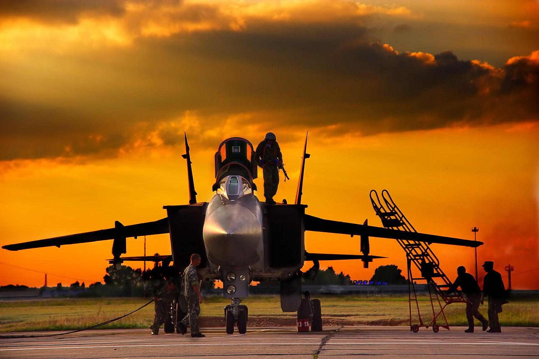 Обои ввс, миг-31, перехватчик, россии, истребитель, Самолёт. Авиация foto 18