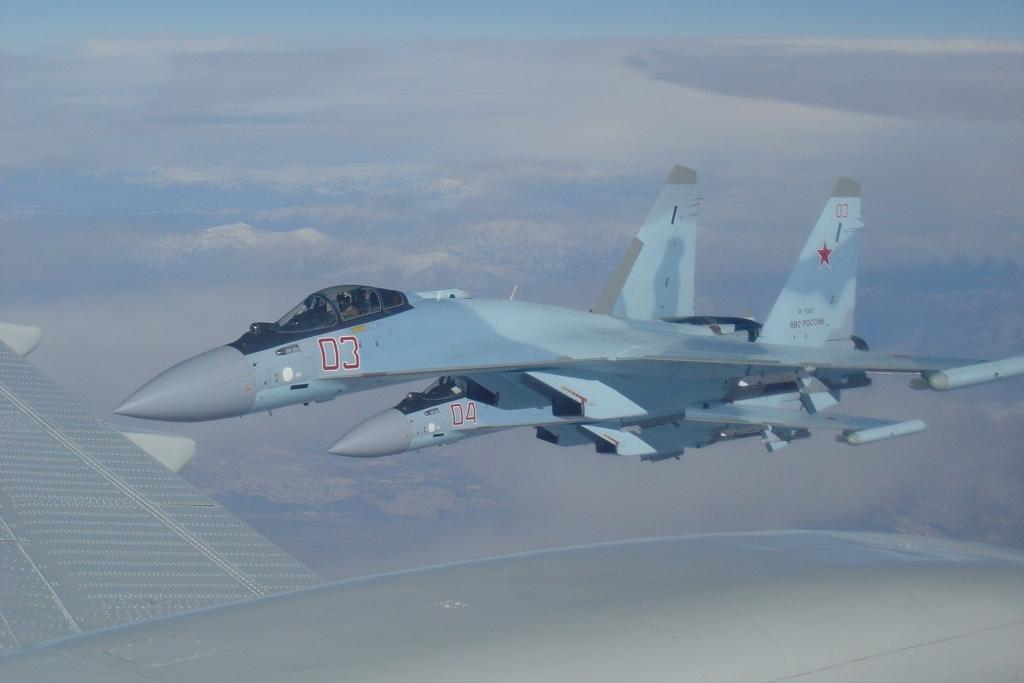 Су-35С полетели в Сирию