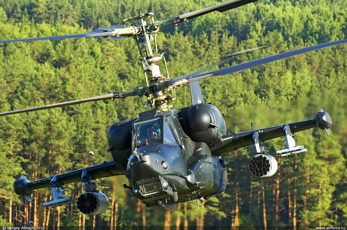 "Kamov Ka-50 ""Black Shark"" / Ka-52 ""Alligator"""