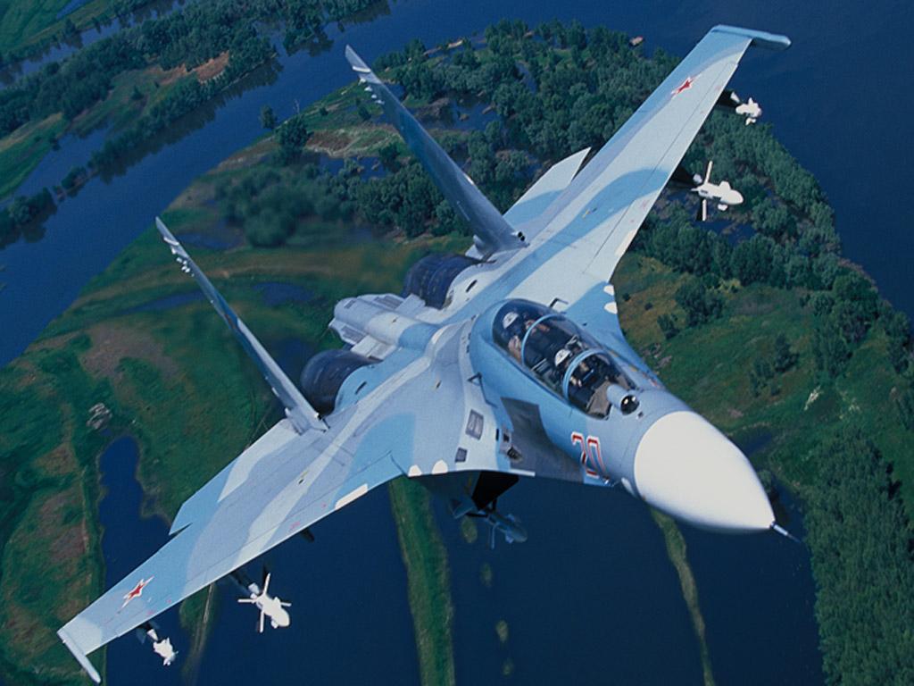 Обои многоцелевой, двухместный, Су-30м2, истребитель. Авиация foto 11