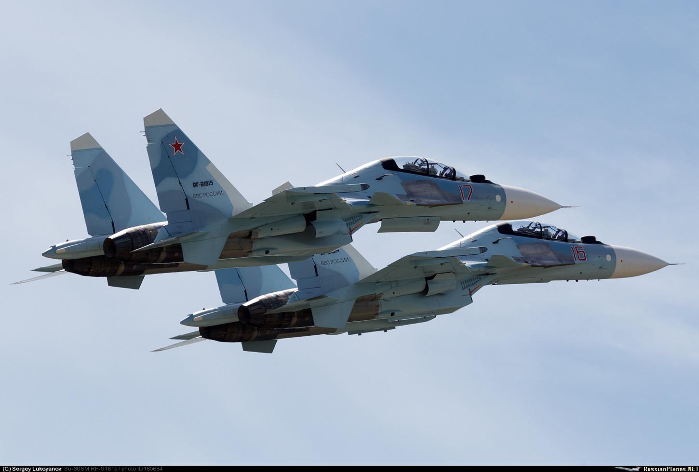 Обои Су-30см, двухместный, многоцелевой, российский. Авиация foto 14