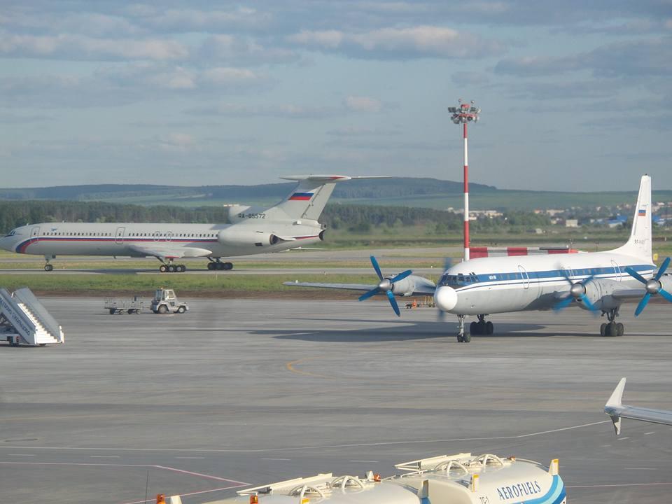 Погибшие Ил-18 и Ту-154Б-2 МО РФ
