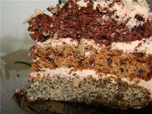 Пирог каприз рецепт с