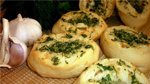 Чесночные булочки рецепт с фото пошагово