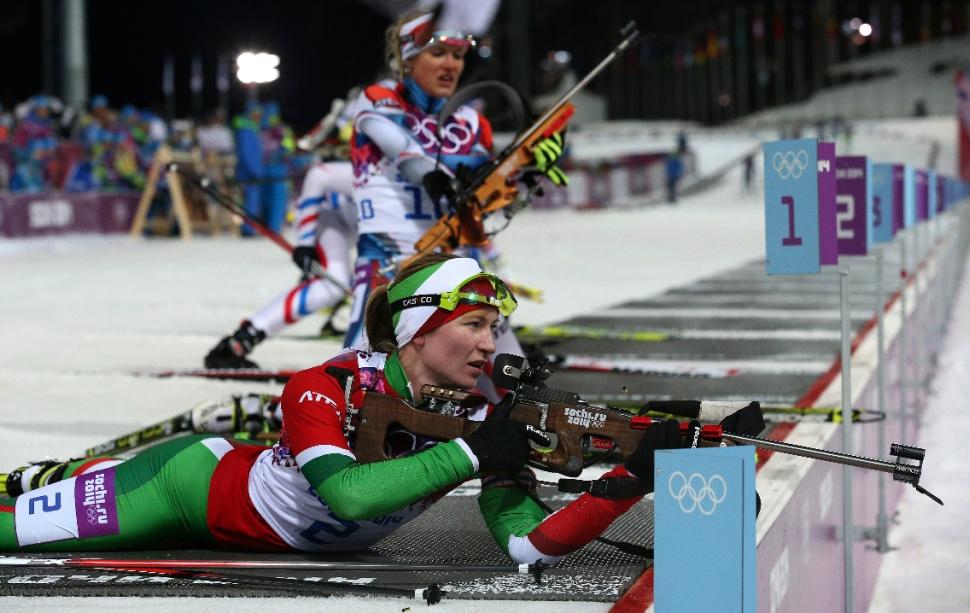 Дарья Домрачева. Третье олимпийское золото