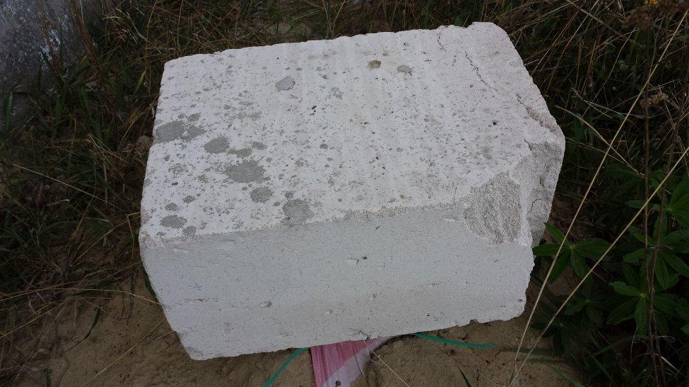 ячеистый бетон после трех зим 3