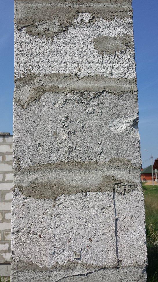 законсервированное строение из газобетона 2
