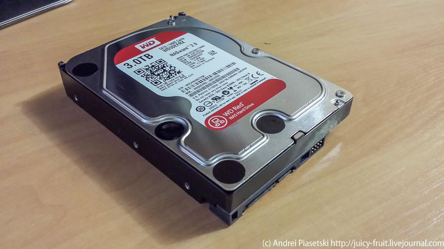 Как я купил новый жесткий диск на 3 терабайта. LJ-1