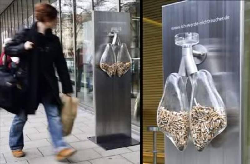 Пепельницы в Германии