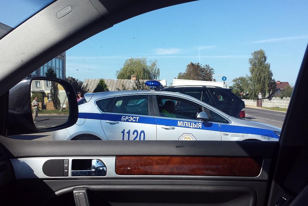 Как штрафуют россиян в Беларуси за превышение скорости 20140916_150632