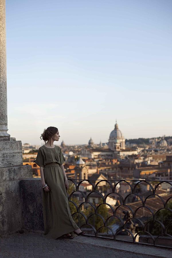 Рим город девушка