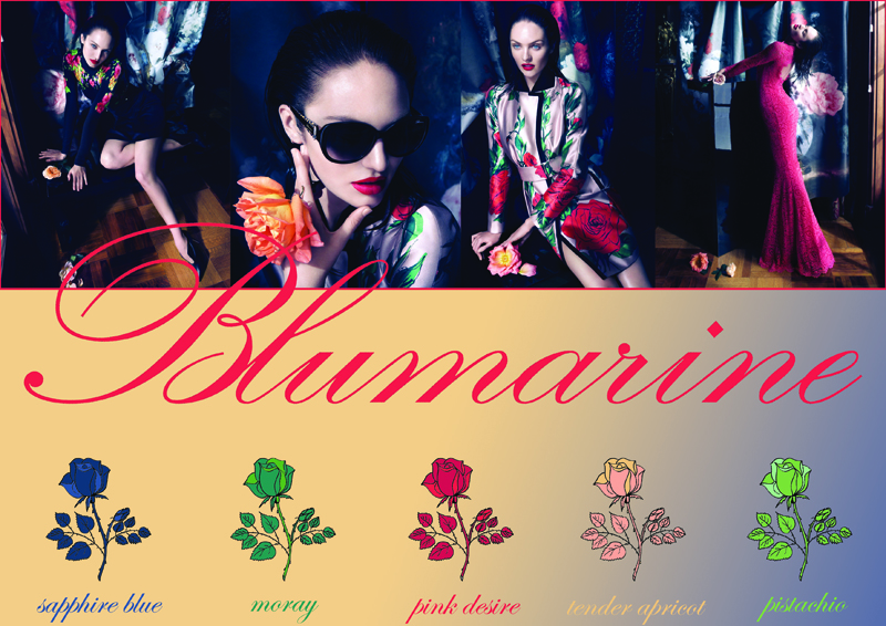 blumarine collage