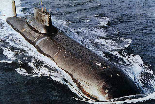 самая большая атомная подводная дощаник проекта 941