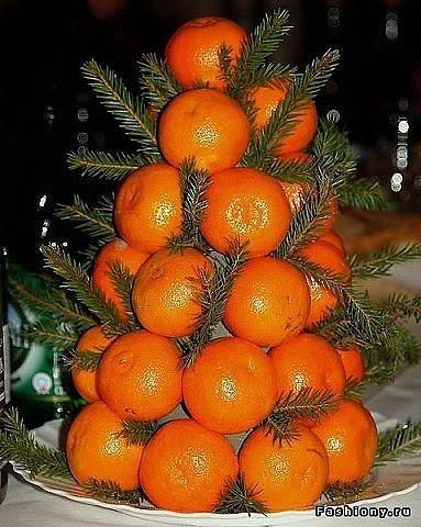 апельсиновая ёлочка