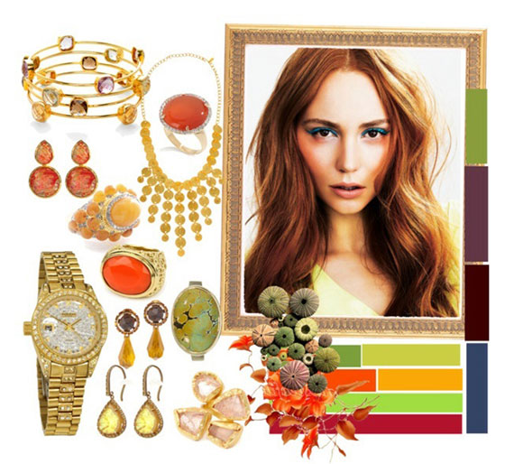 Цветотип Осень