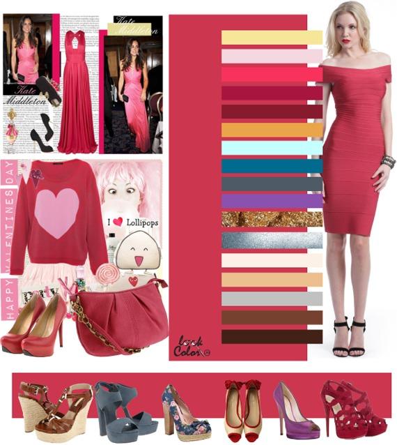 Коралловый лилово-розовый