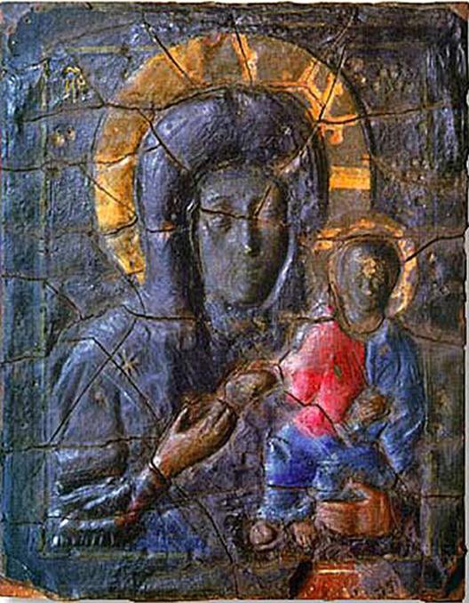 Икона Влахернской Божией Матери из Кузьминок