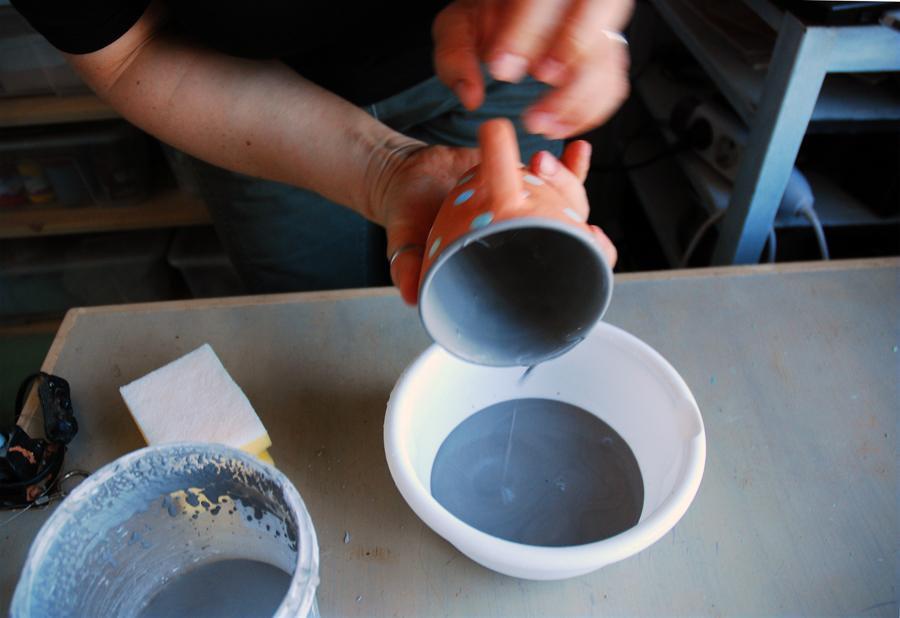 Как сделать глазурь для керамики