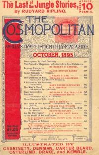 Обложка «Cosmopolitan» (октябрь 1895)