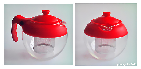 red&glass sphere teapot