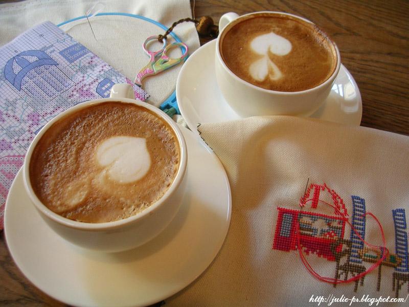 Кофе и вышивка
