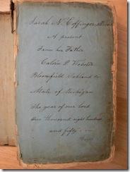 WEBSTER, Sarah Norton WEBSTER Family Bible 02