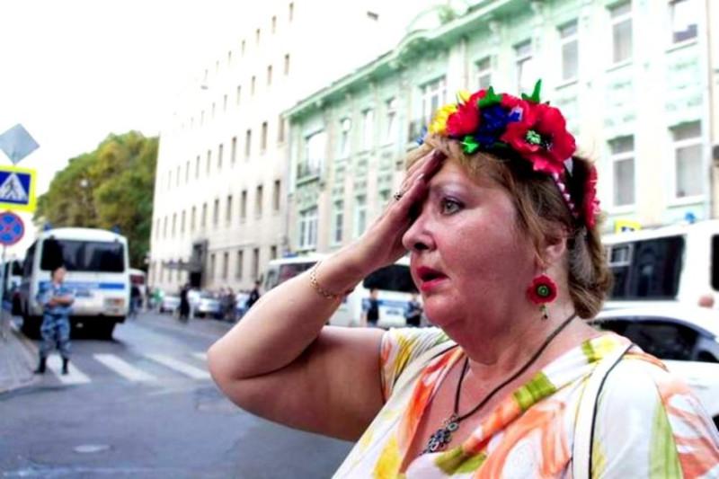 Я приехала в Россию с Украины