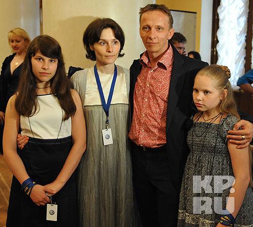 охлобыстин с семьей фото