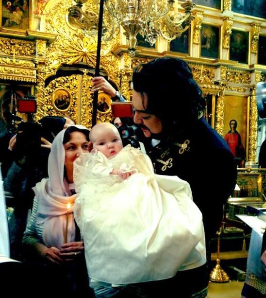 Киркоров крестил дочь